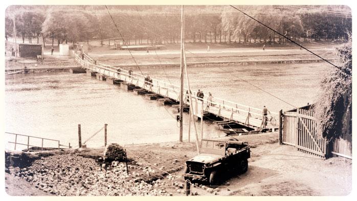 Behelf der Annenbrücke Bernburg