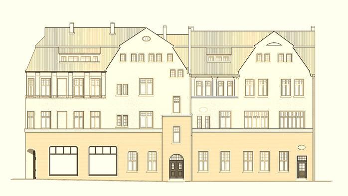 hier entstehen richtig schicke 4 raum wohnungen in bernburg salzland magazin. Black Bedroom Furniture Sets. Home Design Ideas