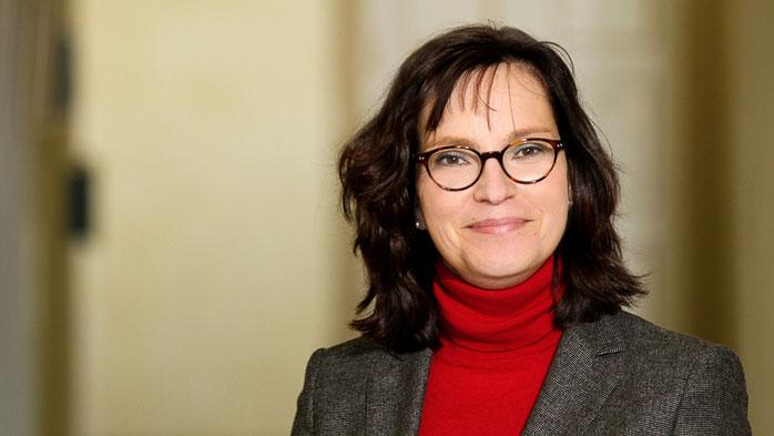 Gastgebende Ärztliche Direktorin und Referentin, Dr. Antje Möhlig