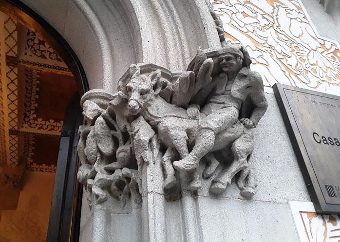 Постройки архитектора Жозепа Пуч-и-Кадафалка в Барселоне