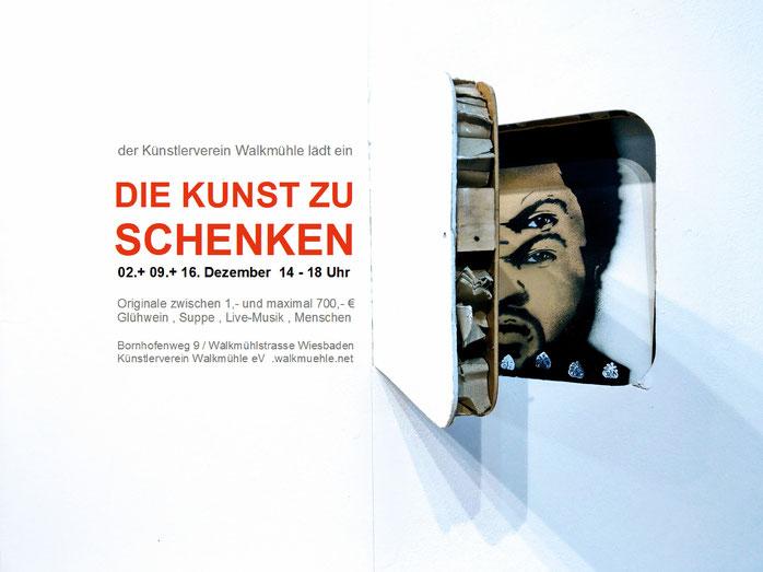 WALKMÜHLE Ausstellungsreihe DIE KUNST ZU SCHENKEN 2018