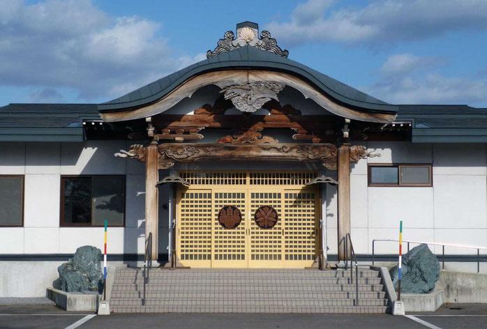 東川寺参詣客殿玄関