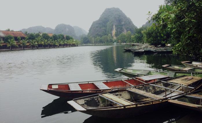 Weltreise, Reiseblog, Weltreiseblog, Südostasien, Vietnam, Tam Coc, Ninh Binh, Zugreise durch Vietnam, Travel, Travelblog,