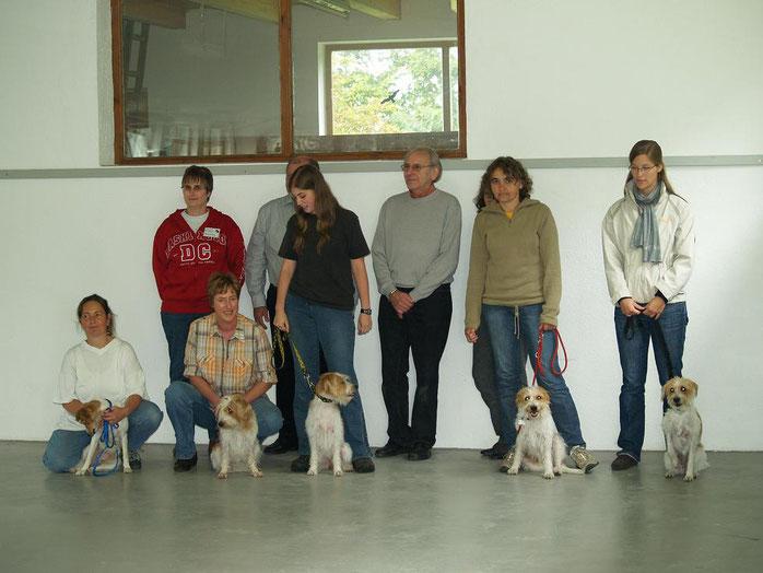 Am 13.9.2008 fand in Erdingen die Körung zur Zuchtzulassung statt.