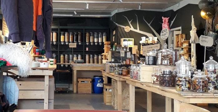 zerowaste, unverpackt Laden, bio-Lebensmittel Zürich, nachhaltig
