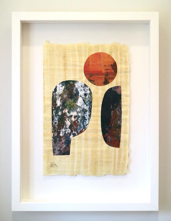kimono - 120 x 120 cm - acrylic on linnen - 2009