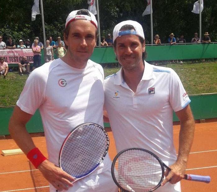 Maxi Wimmer & Tommy Haas - @Luc Wimmer: Danke für das Foto!