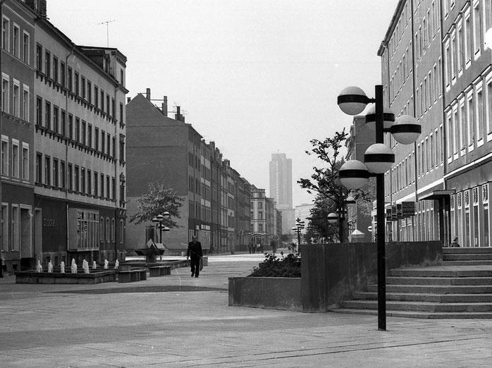 Brühl, Karl-Marx-Stadt, 1980, 80er Jahre, Hotel Kongress, DDR, Deutsche Demokratische Republik