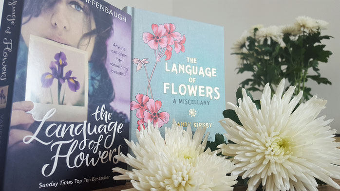 Die verborgene Sprache der Blumen; The language of flowers; Vanessa Diffenbaugh; Mandy Kirkby; 30daysofflowers; 30 Tage Projekt; Blumenliebe; Bücherliebe; Chrysanthemen; Pfingsrosen; Passion Projects; live4happiness2day; bloggingforinspiration