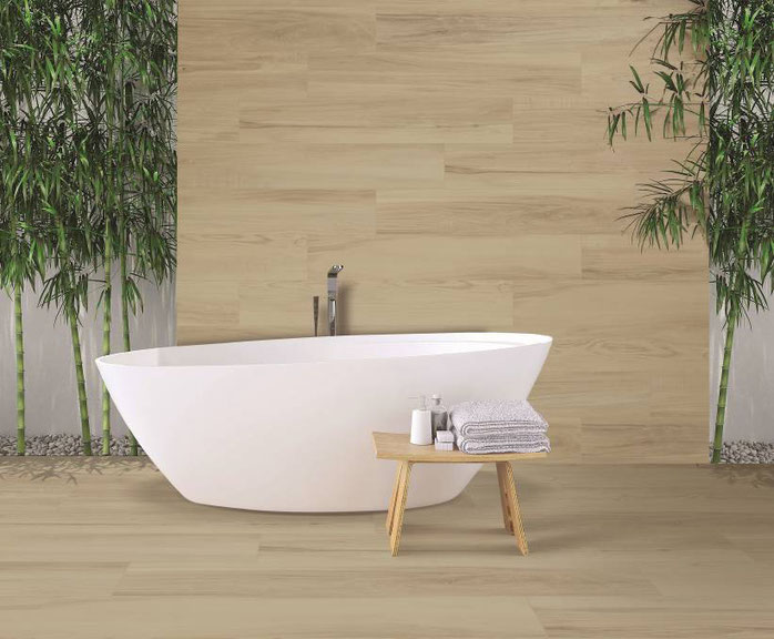 high-end timber look tiles