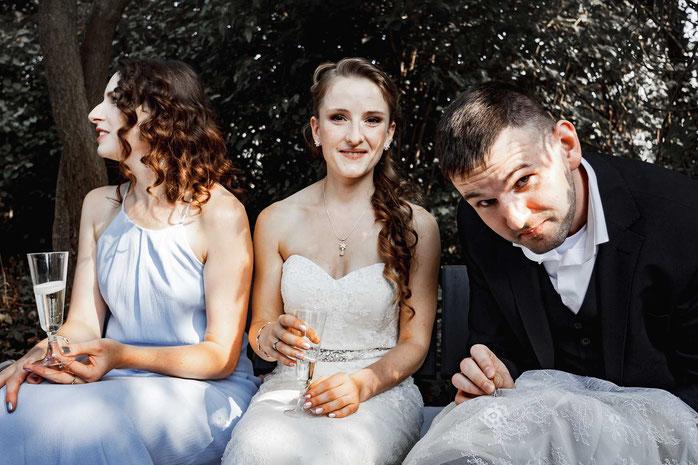 Brautkleid reparieren Hochzeit