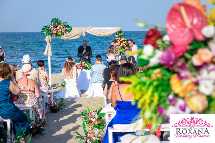 Gazebo Matrimonio Spiaggia : Matrimonio in spiaggia sicilia beach wedding roxana wedding