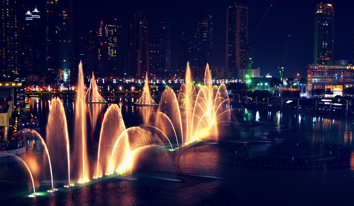 Fountain Dubai VAE