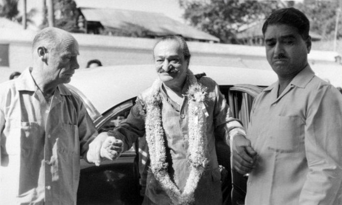 India ; Francis, Baba & Eruch Jessawala - Courtesy of MN Collection