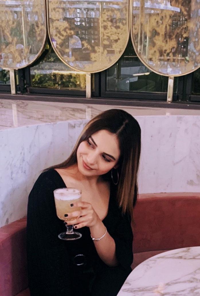 Bartender Fernanda Olvera