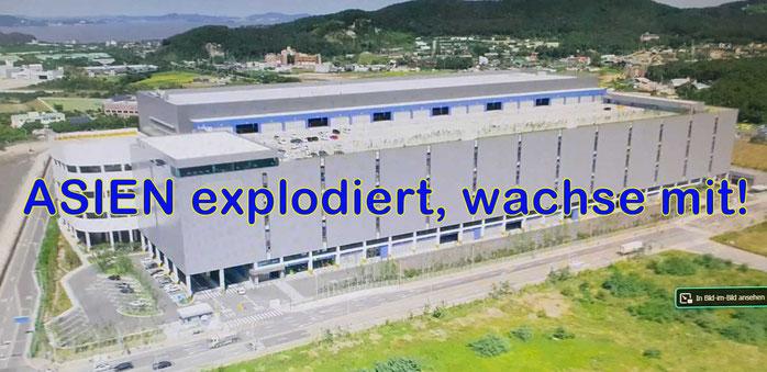 Im September dieses Jahres eröffnete, das Logistic-Center South Korea