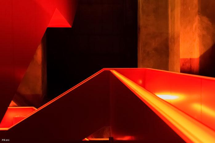 Stairwell, Acrylglas  40 x 60 cm