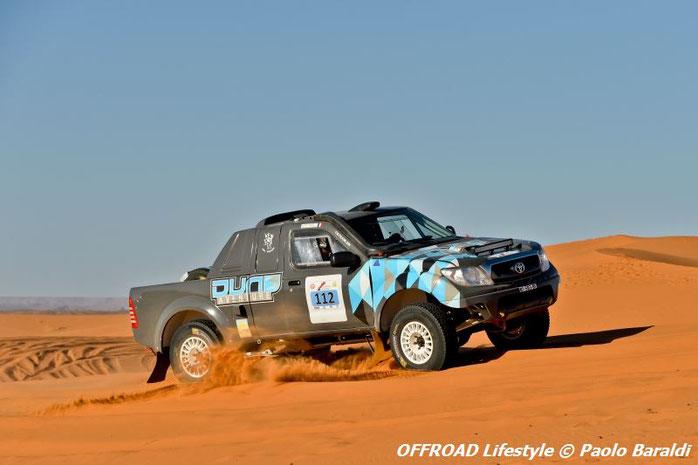 Renaud Jérome e Pemeant Gabriel, vincitori della Morocco Sand Express 2016