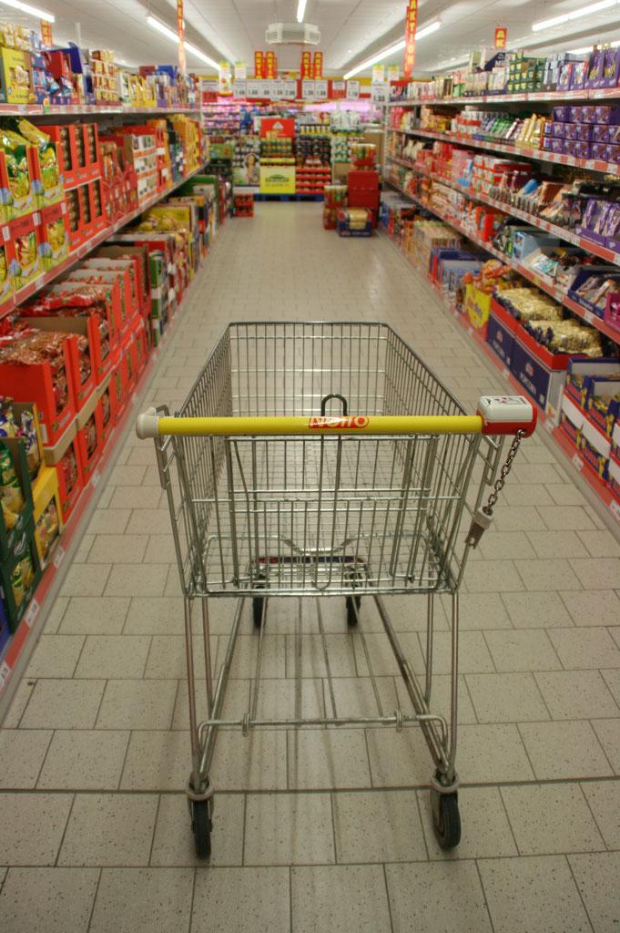 Jährlich verschgwinden in Deutschland rund 100.000 Einkaufswagen spurlos.