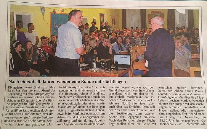 Klaus Hafner Königstein Asyl 2. Bürgermeister CSU