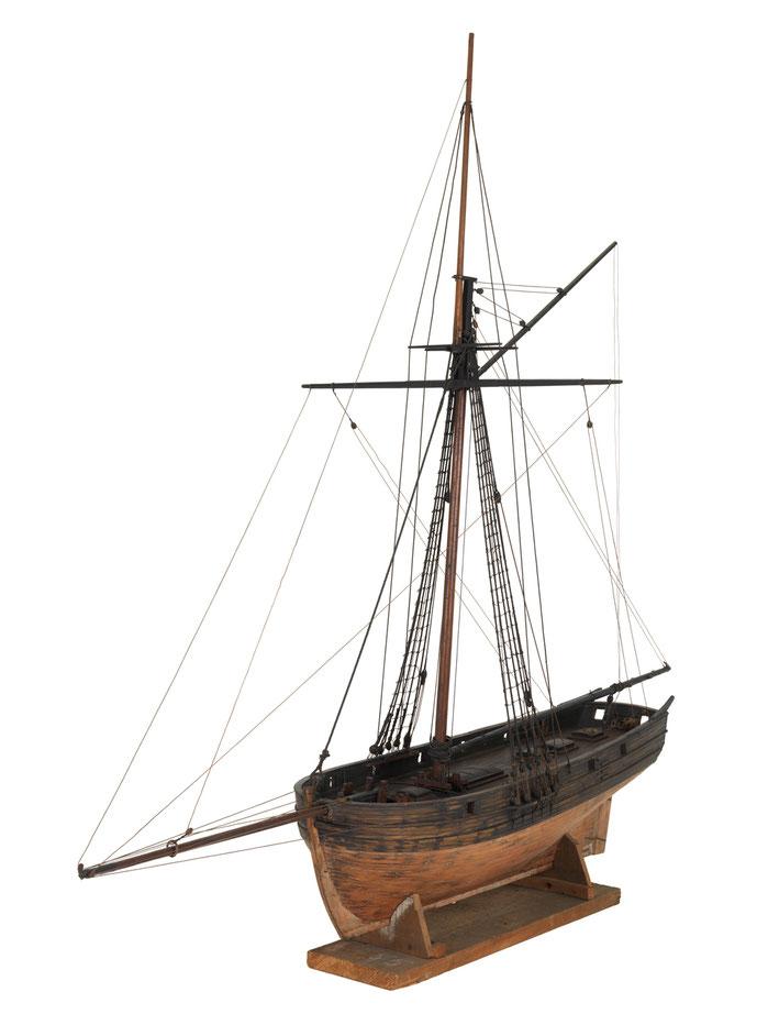 Modèle de cotre pilote britannique du début du XIXème siècle (Source National Maritime Museum)