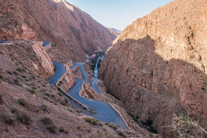 Tour in Marocco - Le gole del Dades