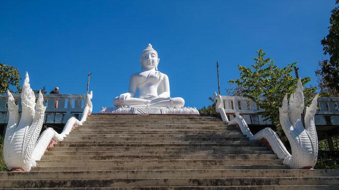 White Buddha in Pai