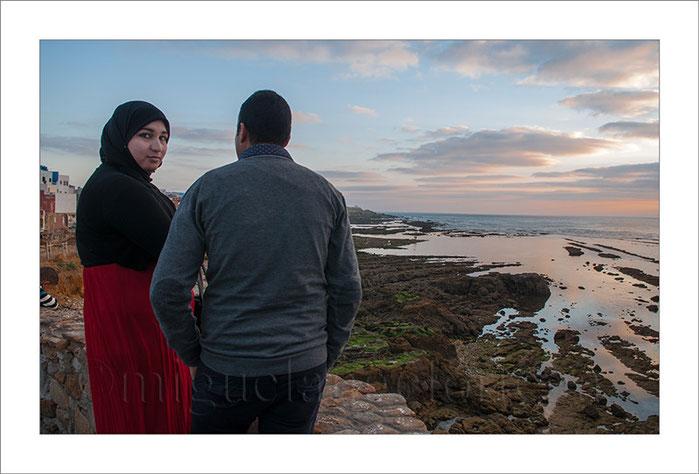 Marruecos, Asilah, foto-blog, paisaje, atardecer, mar