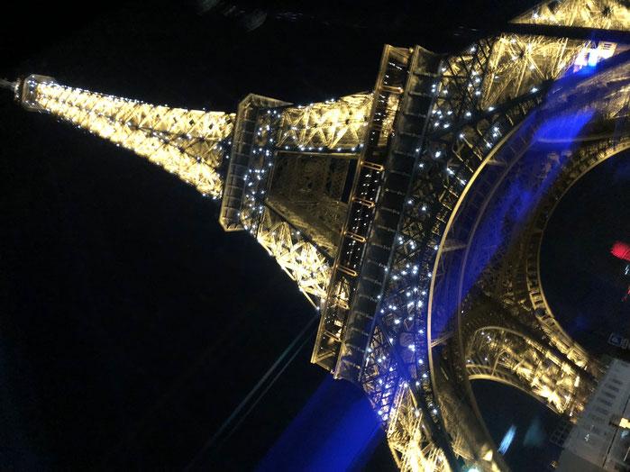 フランスその⑤ エッフェル塔のシャンパンフラッシュ