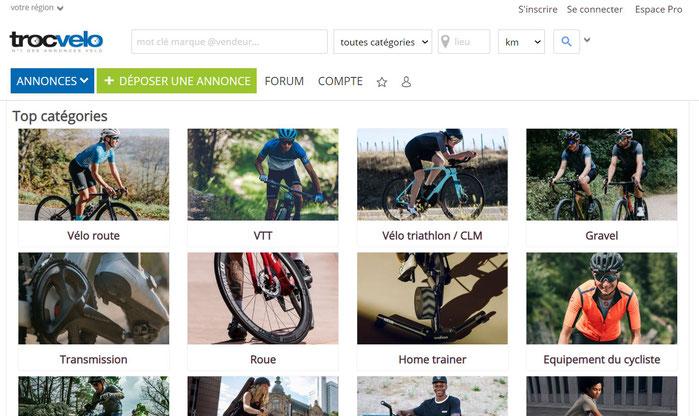 troc  vélo site accueil