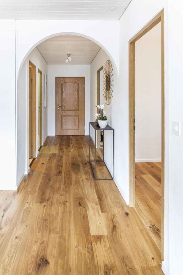 Home Staging 4.5 Zimmer Wohnung Musterwohnung Landhaus Zuzwil Wil St. Gallen
