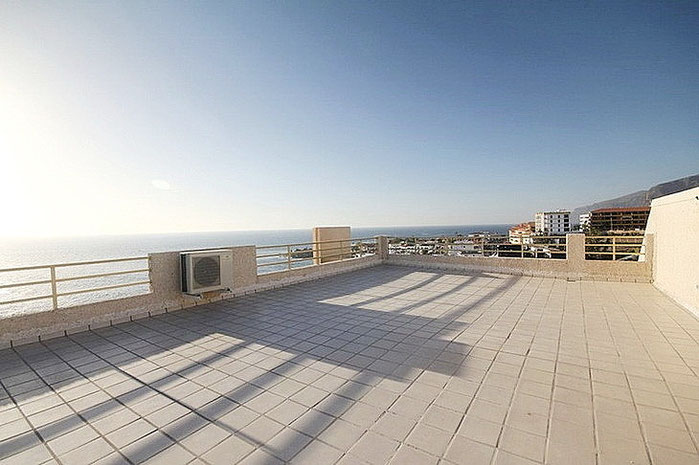 Dachterrasse mit spektakulären Blick.