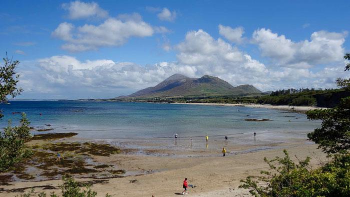 Croagh Patrick in Irland