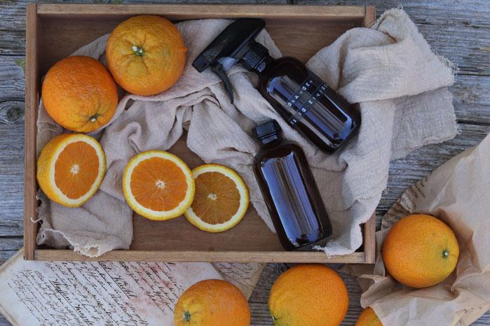 Orangen-Essigreiniger