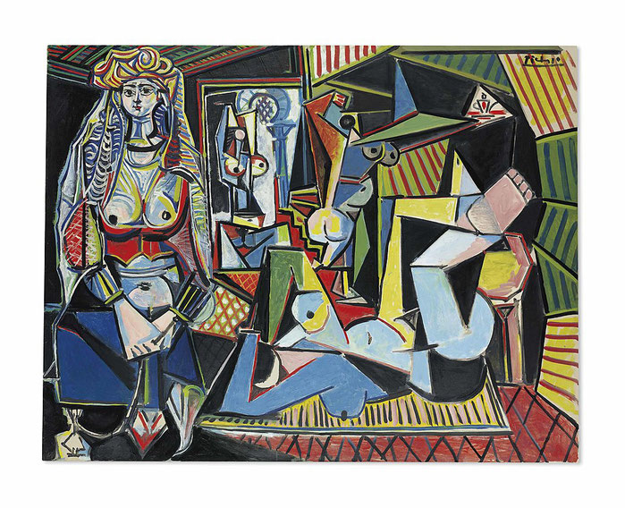 Алжирские женщины Версия О - Пабло Пикассо - самые дорогие картины в мире