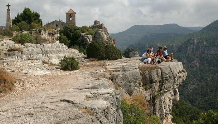 Сиурана - живописные деревни Каталонии.