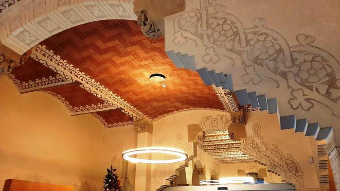 Дом Макайя в Барселоне - интерьеры