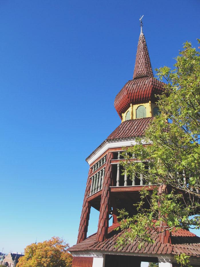 stockholm parc skansen clocher