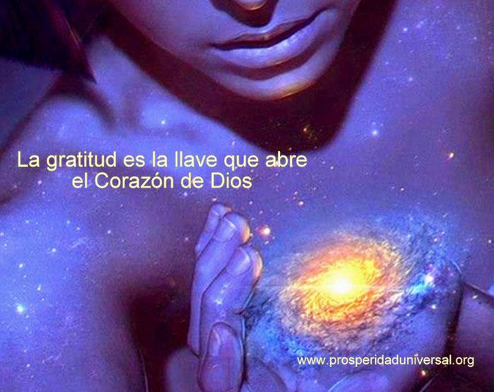 GRACIAS SEÑOR - ORACIÓN DE GRATITUD - LA GRATITUD ES LA LLAVE QUE ABRE EL CORAZON DE DIOS - PROSPERIDAD UNIVERSAL