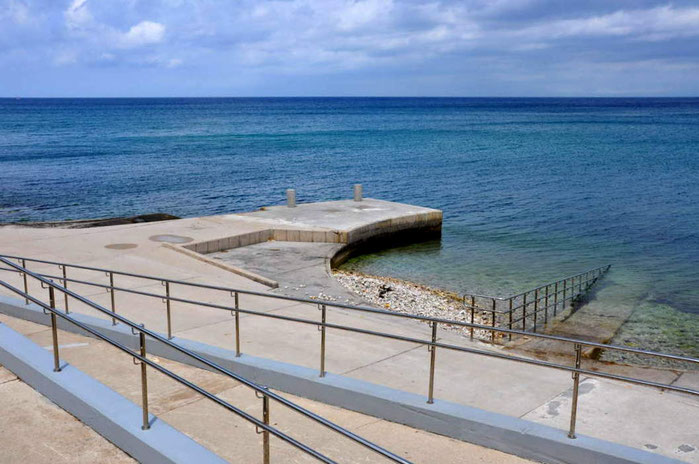 Izola, spiaggia attrezzata per diversamente abili