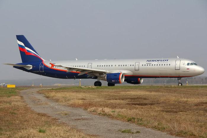 VQ-BEG A321-211 4116 Aeroflot @ Milano Malpensa Airport 25.03.2012  © Piti Spotter Club Verona