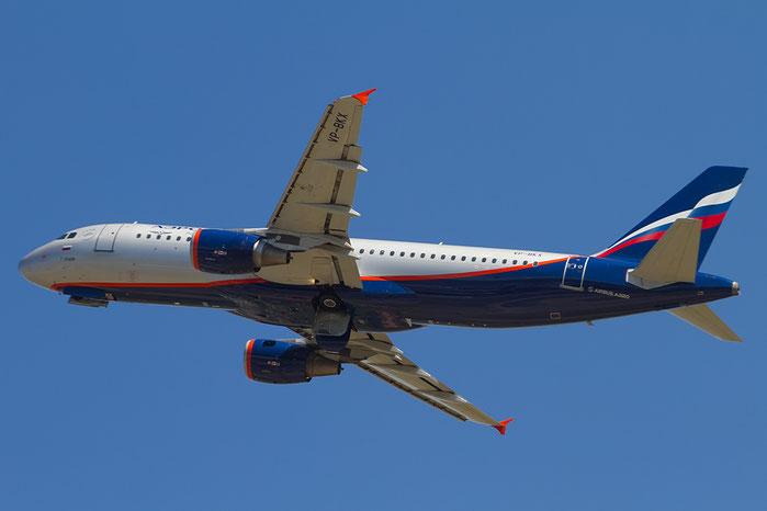 VP-BKX A320-214 3410 Aeroflot @ Bologna Airport 20.08.2015 © Piti Spotter Club Verona