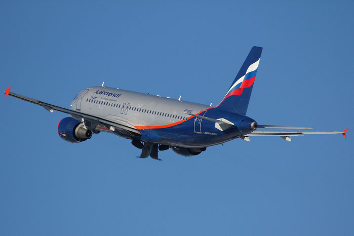 VP-BZO A320-214 3574 Aeroflot @ Innsbruck Airport 26.01.2013 © Piti Spotter Club Verona