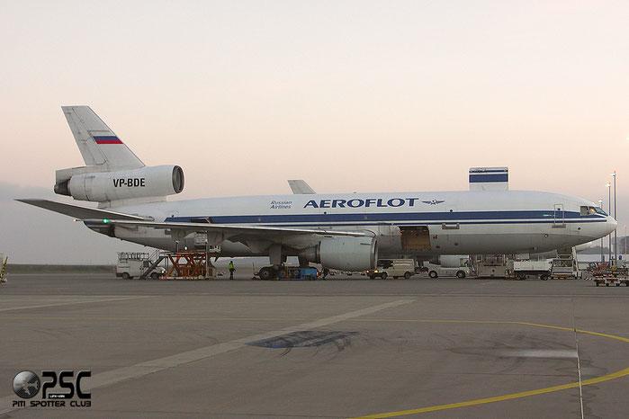 VP-BDE DC-10-40F 47823/306 Aeroflot @ Hahn Airport 2005 © Piti Spotter Club Verona