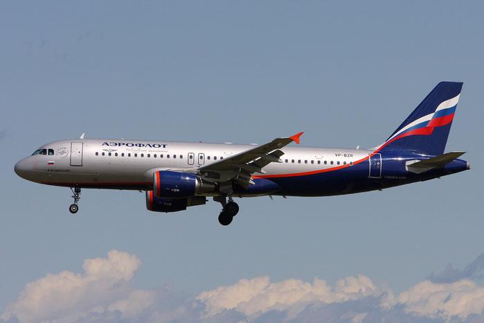 VP-BZR A320-214 3640 Aeroflot @ Munich Airport 05.2009 © Piti Spotter Club Verona