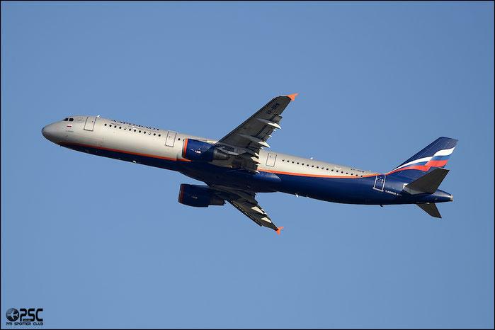 VP-BRW A321-211 3191 Aeroflot @ Milano Malpensa Airport 25.01.2014 © Piti Spotter Club Verona