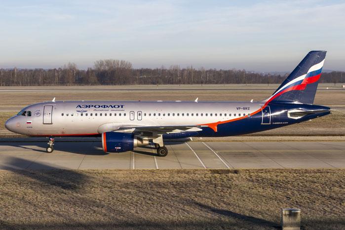 VP-BRZ A320-214 3157 Aeroflot @ Munich Airport 28.12.2015 © Piti Spotter Club Verona