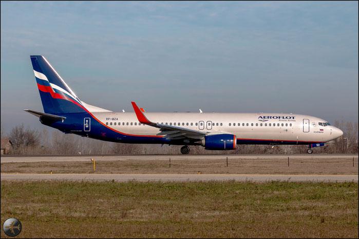 VP-BZA B737-8LJ 41198/4753 Aeroflot @ Bologna Airport 02.01.2015 © Piti Spotter Club Verona