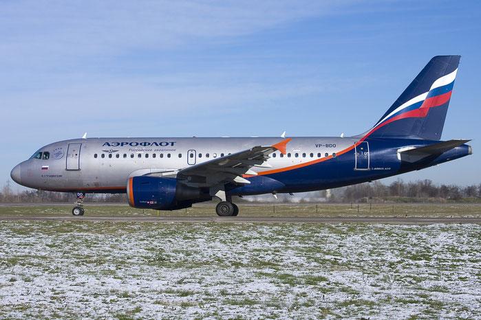 VP-BDO A319-111 2091 Aeroflot @ Bologna Airport 10.12.2012 © Piti Spotter Club Verona