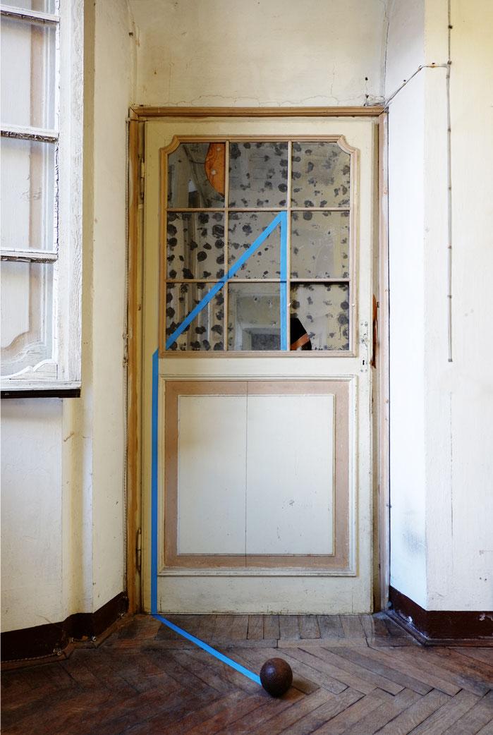 Azione Riscrivente, 2018, site-specific work, Villa Nigra, Orta-Miasino (No)